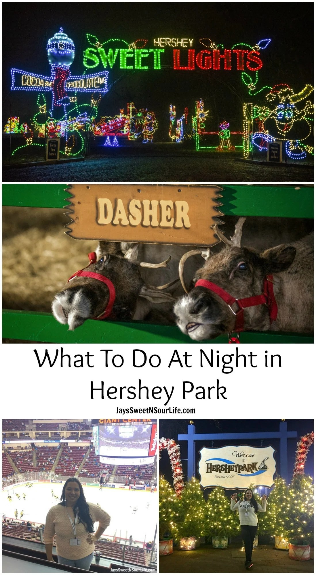 What To Do At Night in Hershey Park