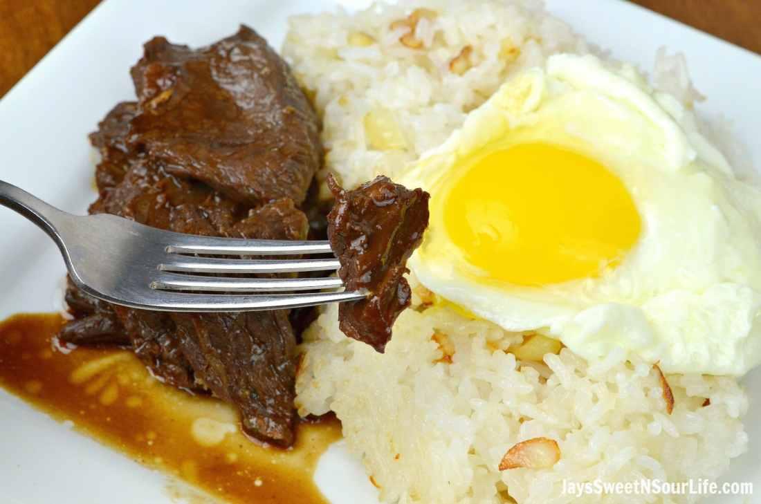 Pressure Cooker Filipino Beef Tapa