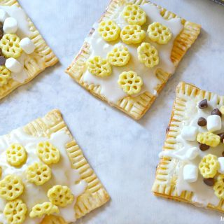 Homemade HoneyComb Pop Tarts