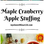 Bring something new to the dinner table. Try this healthy spin to this classic holiday dish with my Maple Cranberry Apple Stuffing.