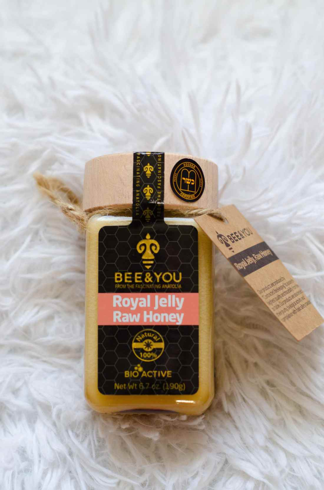 Winter Game Necessaties with BabbleBoxx Bee & You Royal Jelly Raw Honey BEE & YOU is an award winning line of bee products.