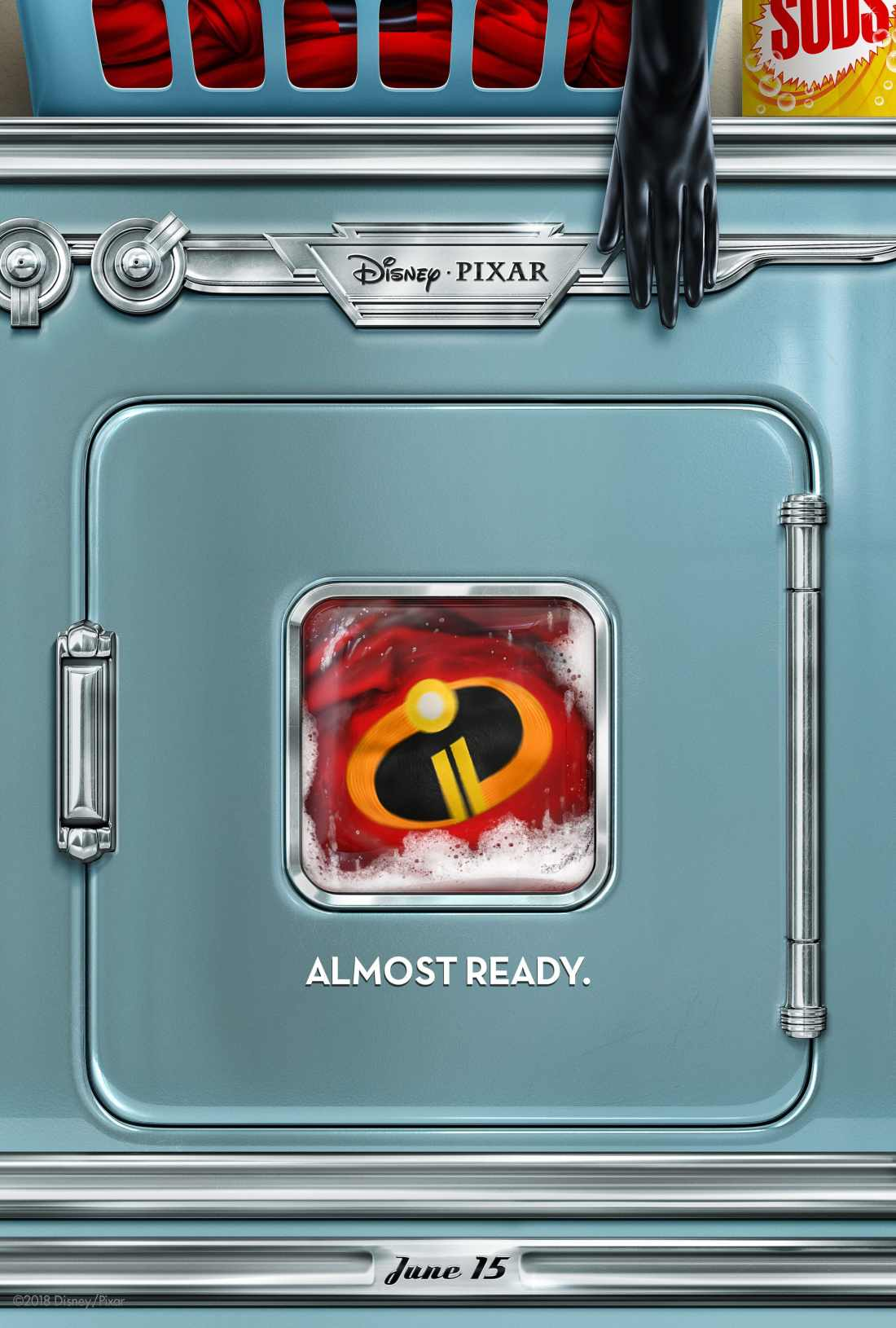 "Disney Pixar's ""Incredibles 2"" opens in U.S. theaters on June 15, 2018. ©2017 Disney•Pixar. All Rights Reserved."