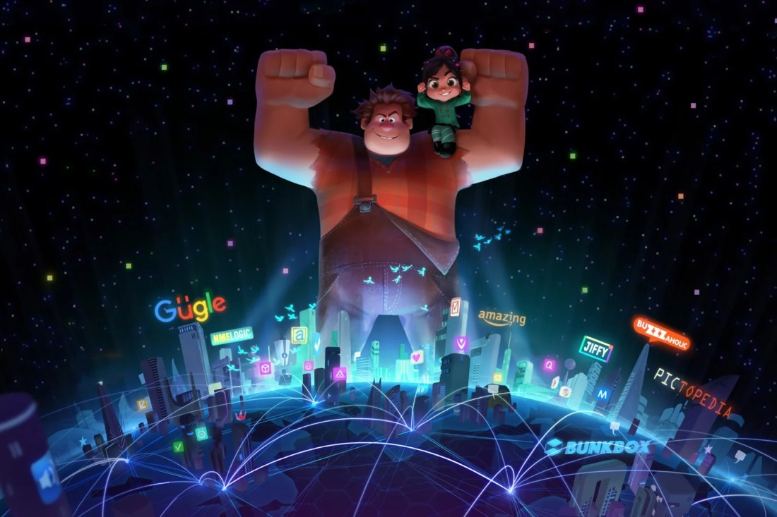 """Ralph Breaks the Internet: Wreck-It Ralph 2"" leaves Litwak's video arcade behind, venturing into the uncharted, expansive and thrilling world of the internet—which may or may not survive Ralph's wrecking. ""Ralph Breaks the Internet: Hits theaters on Nov. 21, 2018."