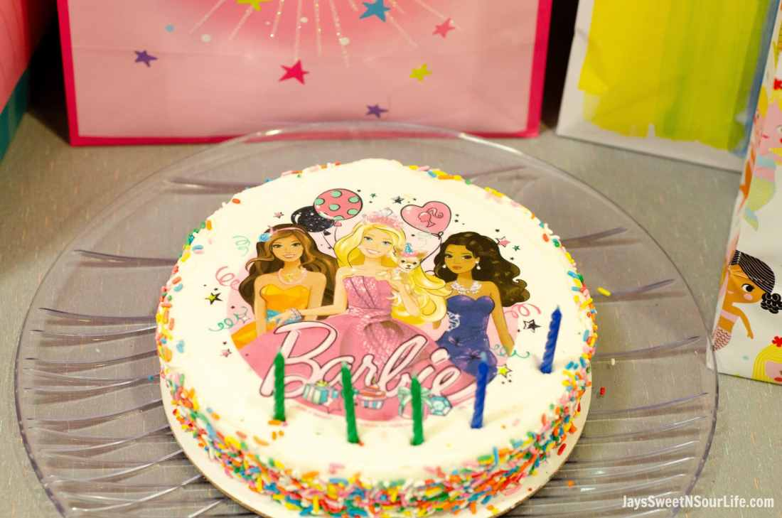 Chuck e cheeses VIP birthday Party offers new birthday cakes including one with Barbie. Book your party today and have guests enjoy 2 hours of unlimited game play.