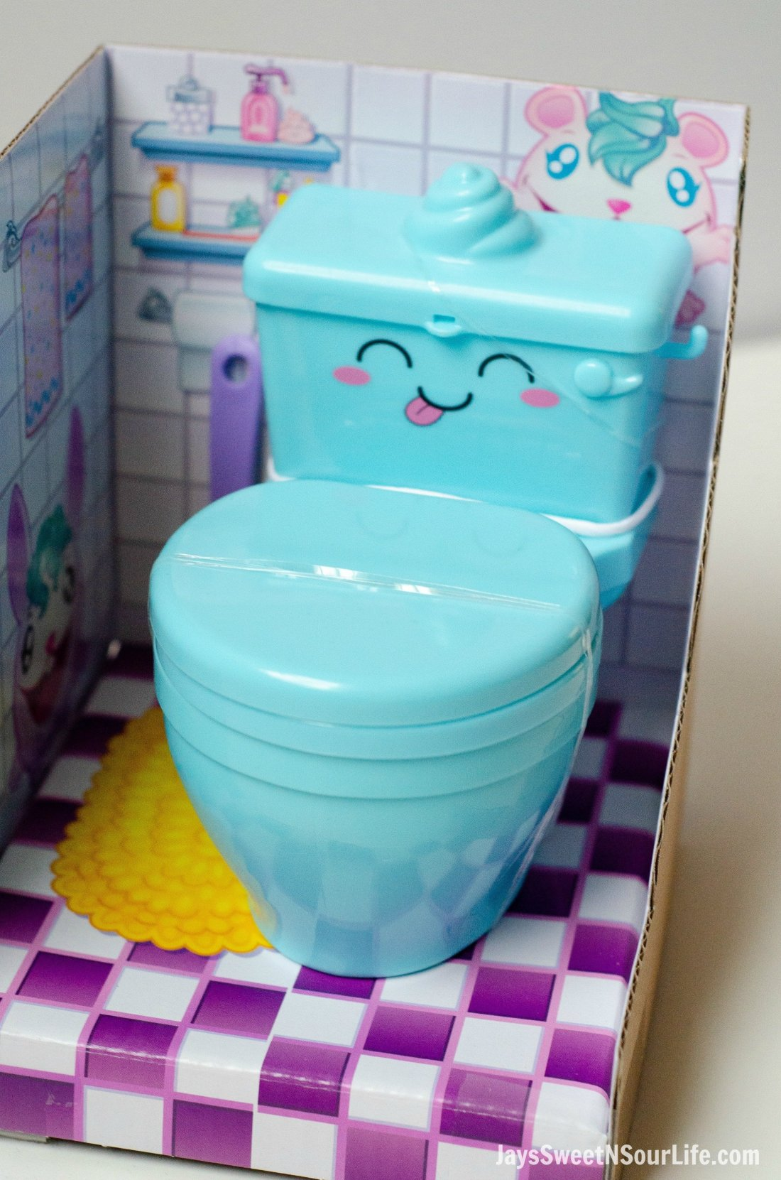 Pooparoos Packaging With Toilet. Pooparoos are full of fun surprises and tons of fun for all.