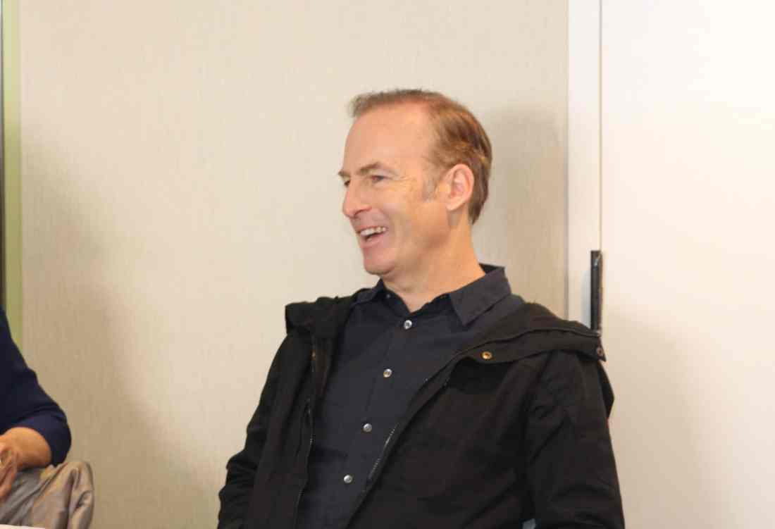 Incredibles 2 Interview with Bob Odenkirk Laughing. Disney Pixars Incredibles 2 film is in theaters everywhere today.