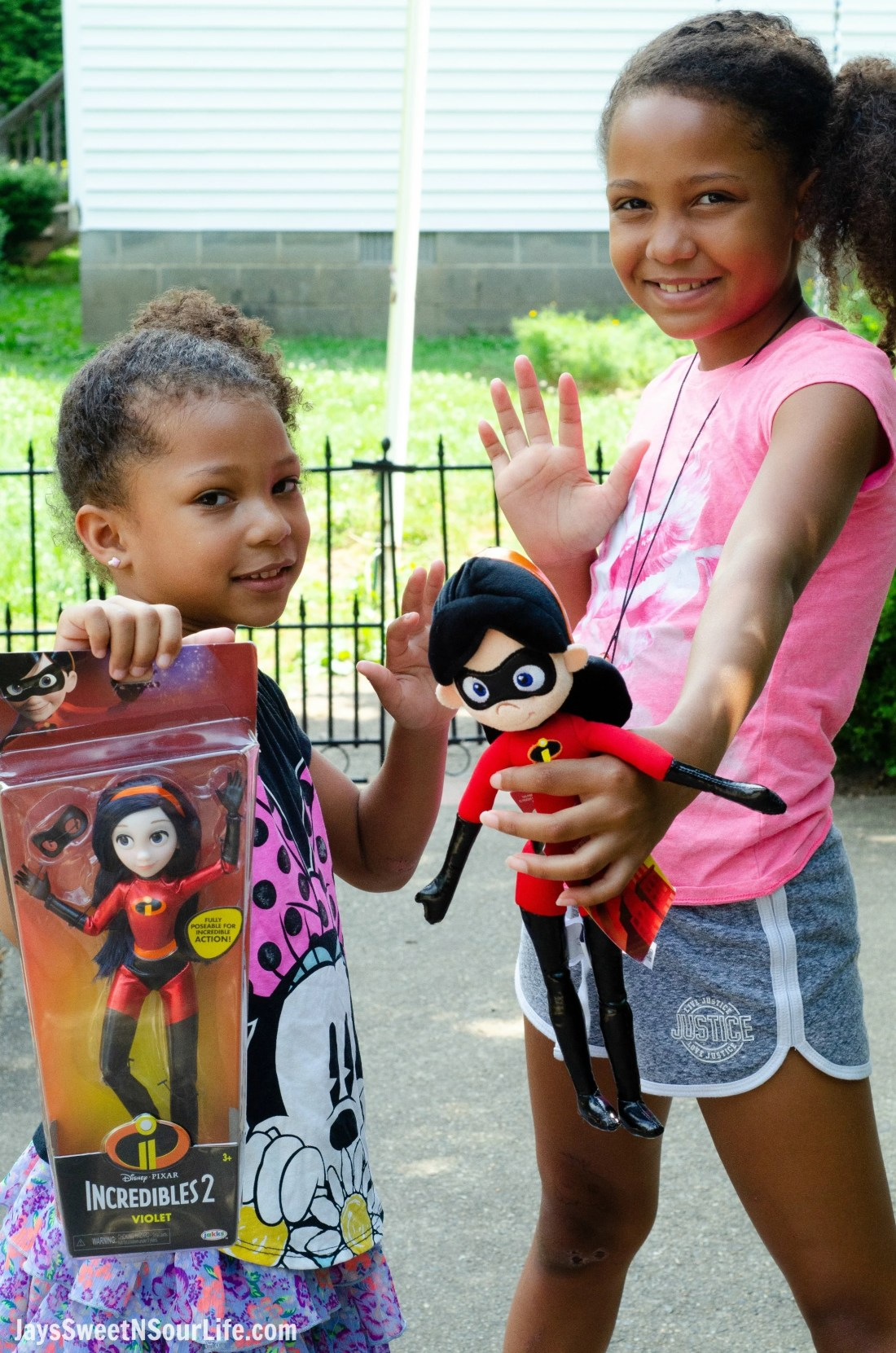 African American Girls Incredibles 2 Violet Action Figure and Plush Doll. New Disney Pixars Incredibles 2 Toys + More | Incredibles 2 Gift Guide