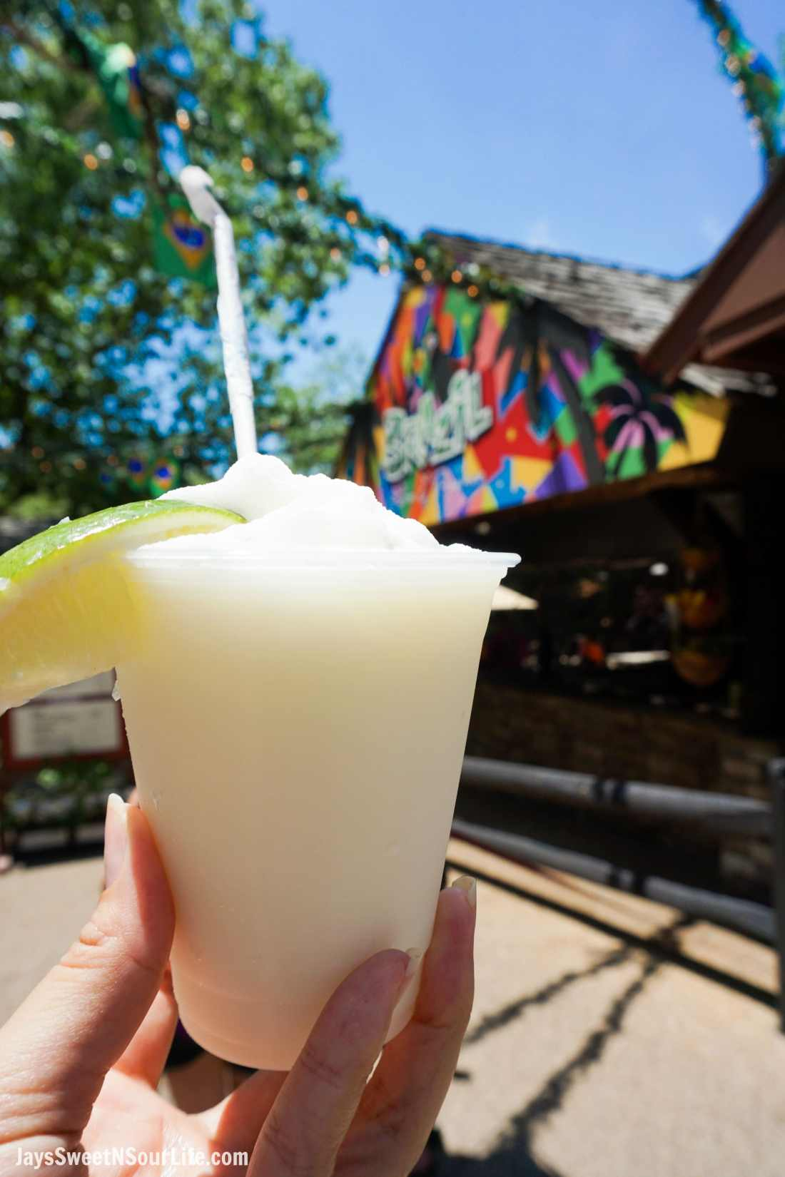 Brazilian Lemonade 2018 Busch Gardens Food and Wine Festival. Food & Wine Festival is from 11 am to close every Friday, Saturday and Sunday, May 25 - July 1.