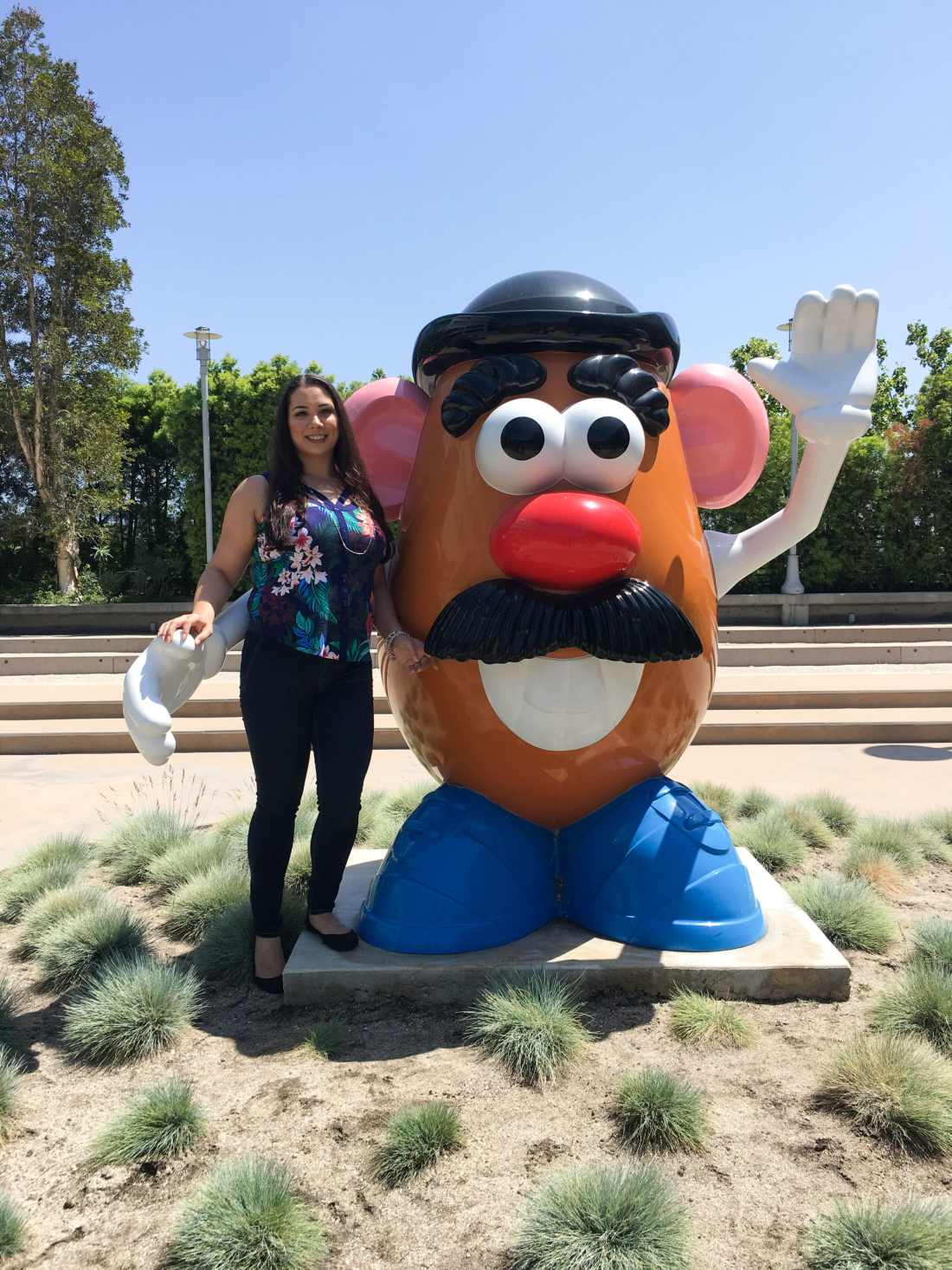 Jessica Simms Jays Sweet N Sour Life at Disney Channel animation Building stnading with Mr. Potato Head. Read my full article on Disney Channel's Big City Greens, A Peek Inside This NEW 2 Funny + 1 Part Heart Series.