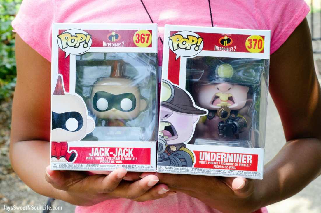 Incredibles 2 Jack Jack and UnderMiner Funko Pops. New Disney Pixars Incredibles 2 Toys + More | Incredibles 2 Gift Guide