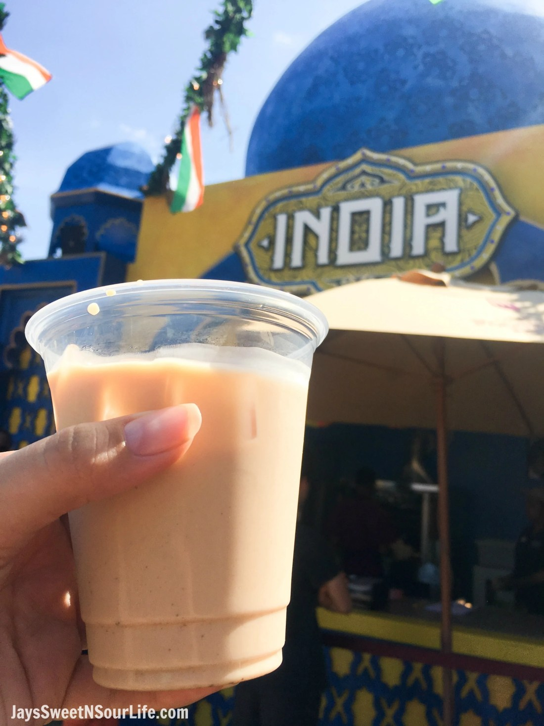 Masala Chai Iced Tea 2018 Busch Gardens Food and Wine Festival. Food & Wine Festival is from 11 am to close every Friday, Saturday and Sunday, May 25 - July 1.