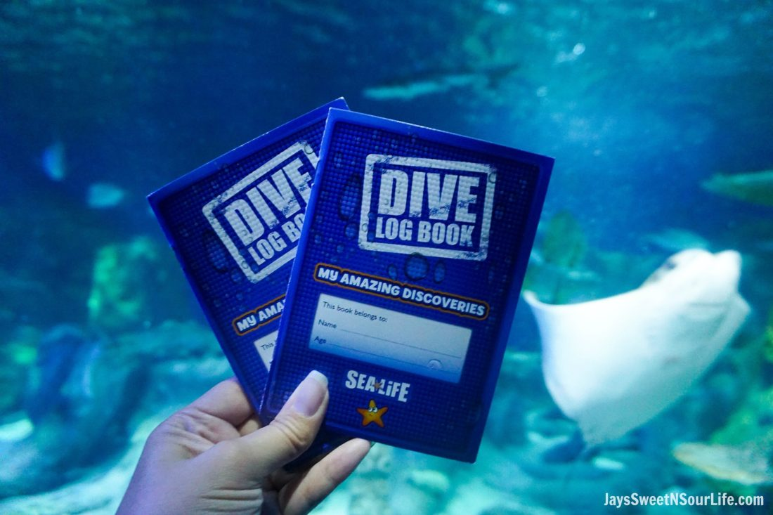 Sea Life - Visit Cabarrus County - Dive Log Book. A Large Families Adventure Guide To Cabarrus County - North Carolina - via JaysSweetNSourLife.com.