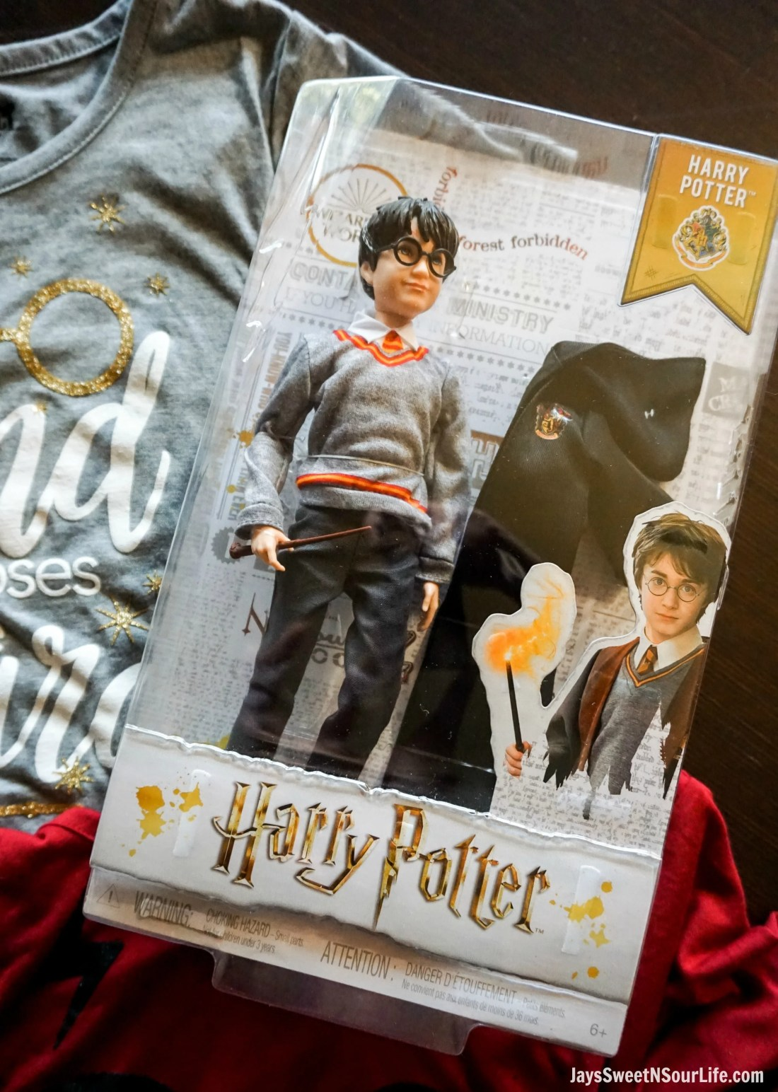 Harry Potter Dolls Closeup Harry. Learn more aboutthese collectable Harry Potter Dolls at Jayssweetnsourlife.com .