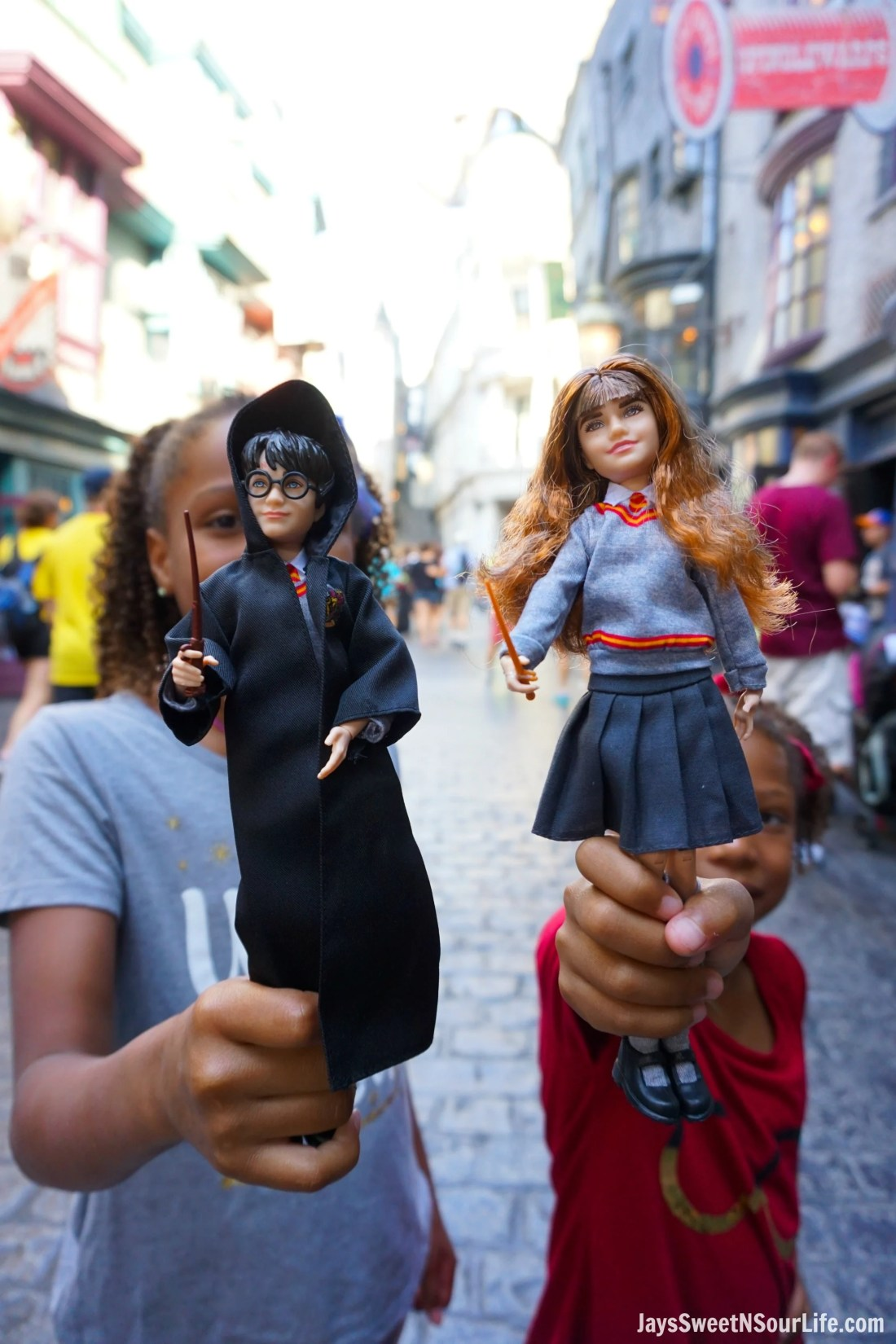 Harry Potter Dolls Girls Diagon Alley. Learn more aboutthese collectable Harry Potter Dolls at Jayssweetnsourlife.com .