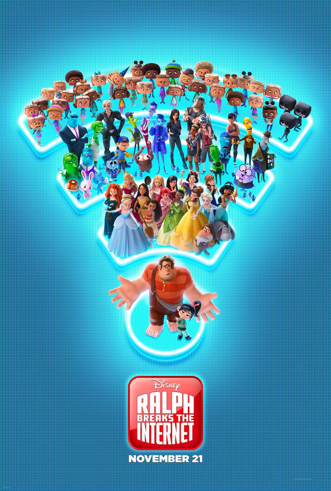 """Ralph Breaks the Internet: Wreck-It Ralph 2,"" On a quest to save Vanellope's game, how will these two misfits ever succeed in this vast new world?"