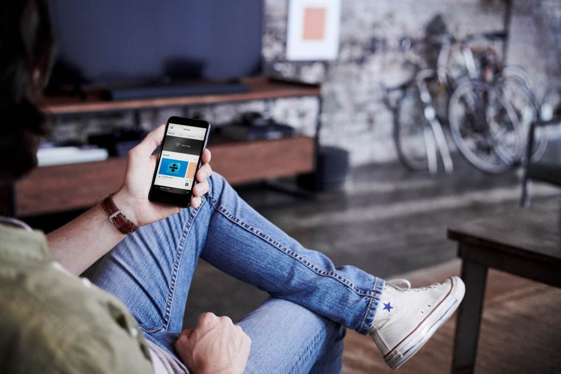 Bose Soundbar Control Phone. Control goes way beyond voice. Enjoy one-touch access to the music you love or manage it all from the Bose Music app.