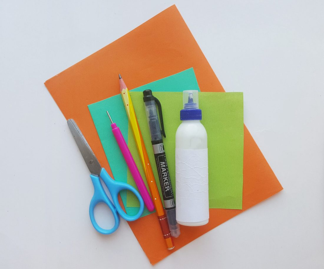 Pumpkin Trick or Treat Bag Supplies. These cute pumpkin trick or treat bags are perfect for Halloween themed class parties, easy to follow and fun to hand out to friends.