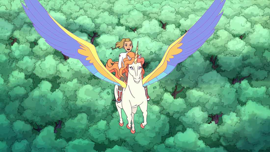 Adora and Swift Wind in The highly anticipated Netflix original, DreamWorks She-Ra and the Princesses of Power, is now available. Stream all 13 episodes only on Netflix today!