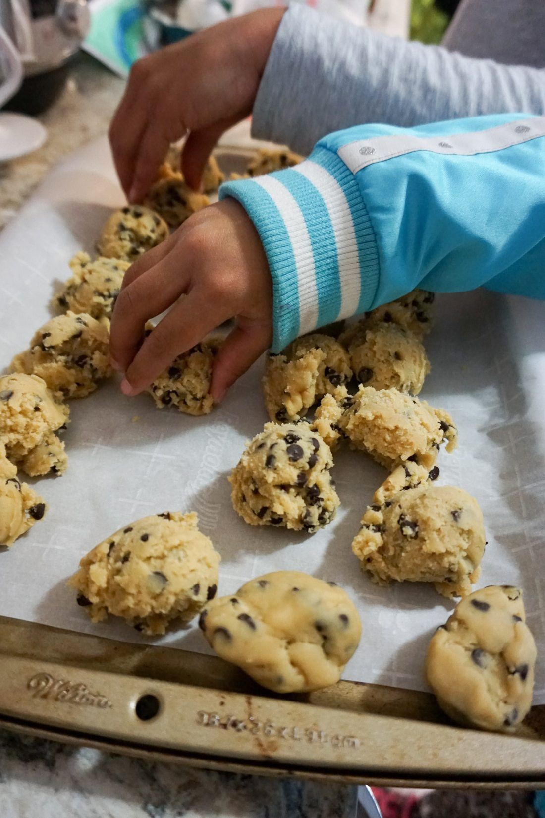 The Future is In Good Hands Making Cookies. Learn more about how we baked cookies to bring our community together.
