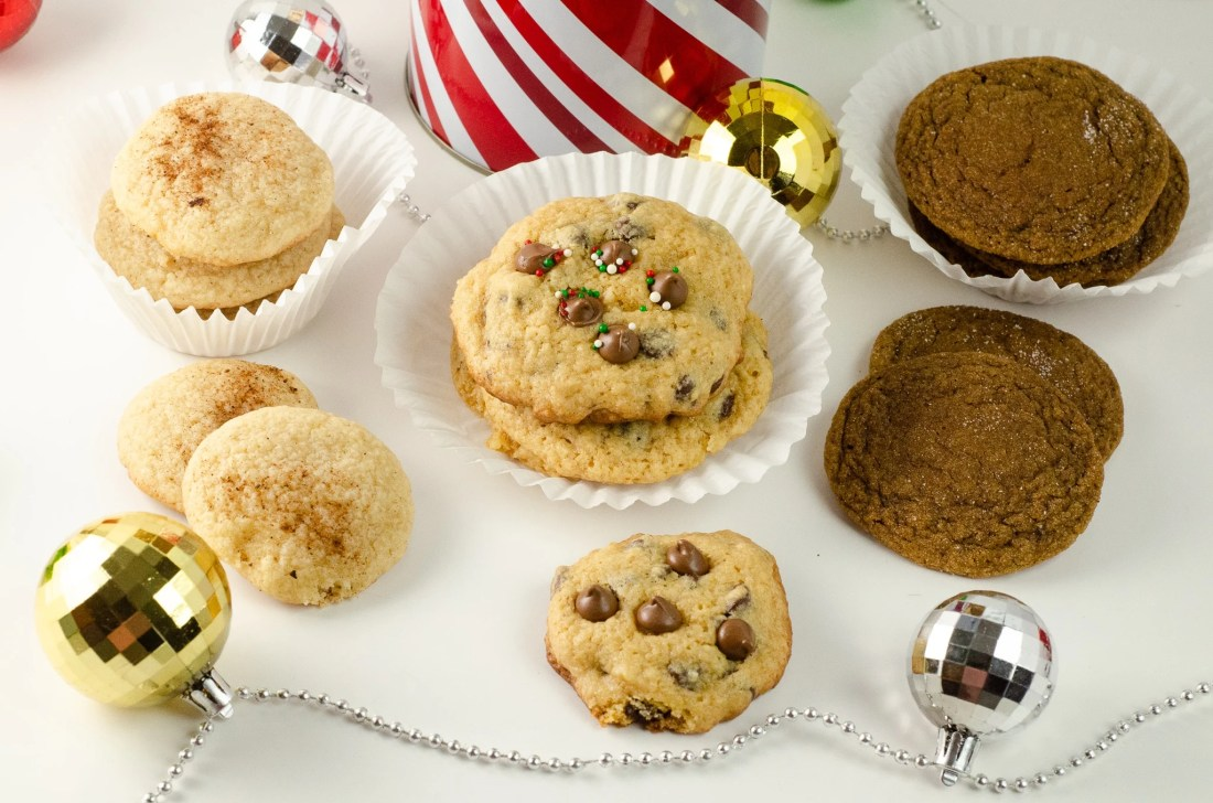 "Holiday Teachers Gift Ideas Assorted Cookies. Nothing says ""Happy Holidays"" like a Holiday Teachers Gift. Read more about my three fun Holiday Teachers Gift Ideas for your family to try this holiday season."