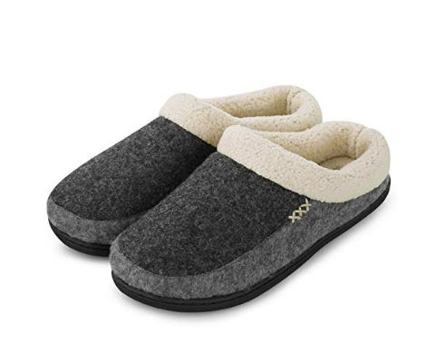 Fanture Men's Memory Foam Slippers. Microfiber upper & soft wool-like plush fleece Lining to keep your feet cozy and warm. Read more about the hottest gifts of the season on my blog.