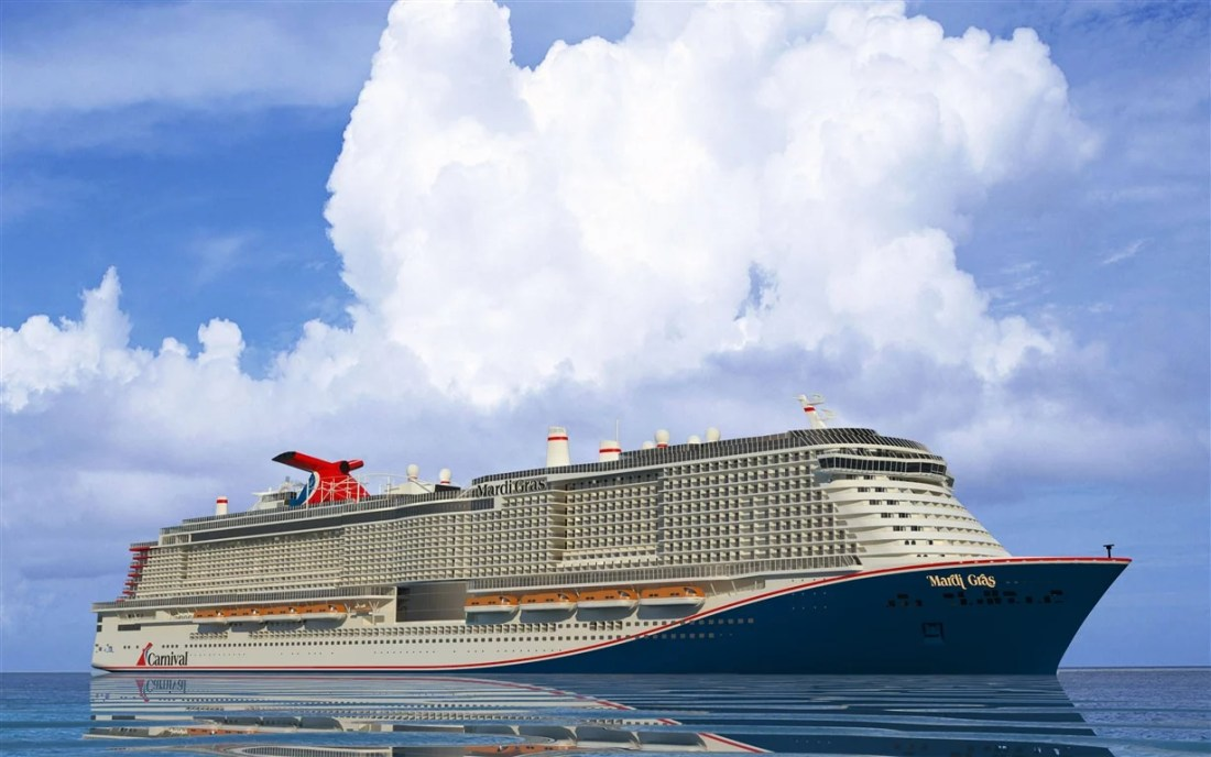 Carnival Cruise Line has just released some wonderful news! In a nod to Carnival Cruise Line's rich history as America's Cruise Line, the line announced today that it will name its new XL-class ship to be delivered in 2020 Mardi Gras™.