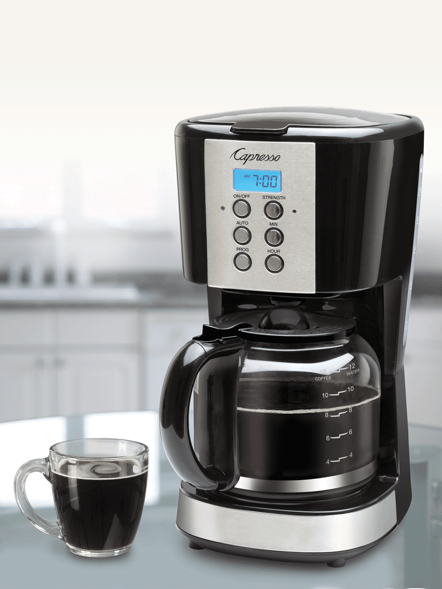 Packed with features but priced for value, the Capresso 12-Cup Coffee Maker is sure to be a popular addition to any kitchen.. Read more about the hottest gifts of the season on my blog.