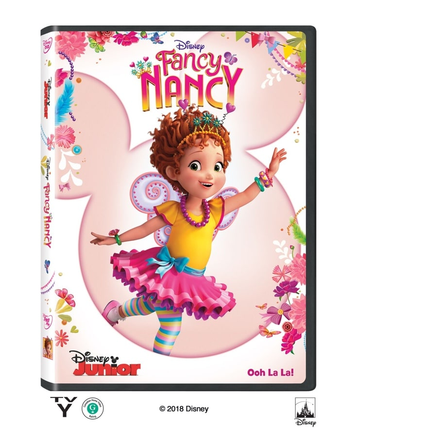 "Grab some glitter, add a dash of ""ooh la la,"" sprinkle in original songs and… Voilà! Get set to pour on the fun with Fancy Nancy."