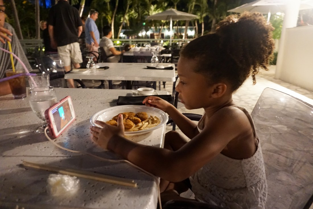 Girl Eating Soy Sushi Bar Beaches Resorts ini Turks and Caicos. Planning a trip to Beaches Resorts in Turks and Caicos? Learn about how you can celebrate your birthday in style during your next trip.