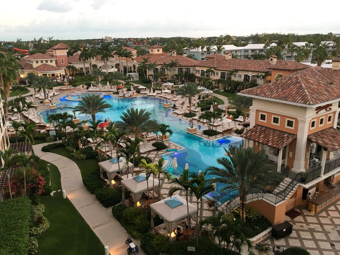 Italian Village Pool Area at Beaches Resorts in Turks and Caicos. Paradise does exist, and it's only a plane ride away. Take a look inside our suite in this Oceanfront Family Suite Room Tour at Beaches Resorts in Turks and Caicos.