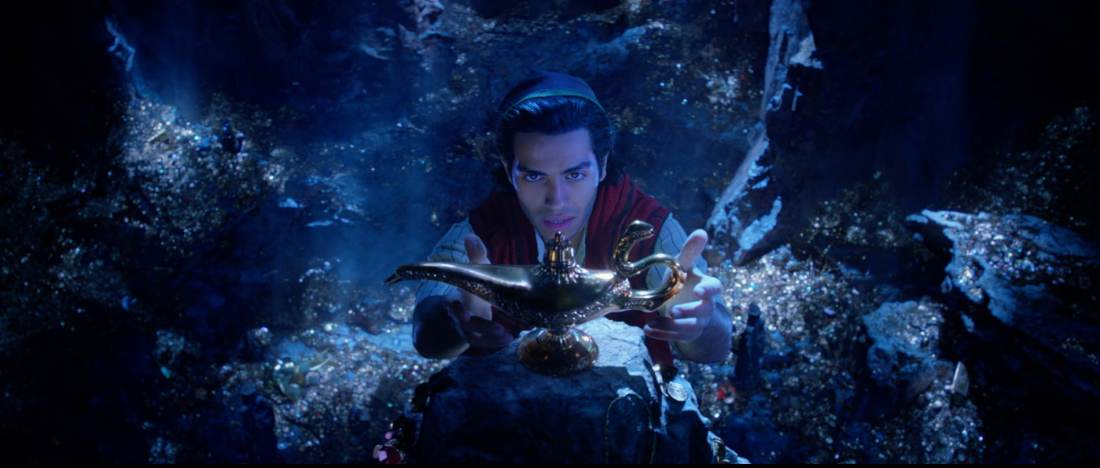 Disney's Aladdin Magic Lamp. Take a Special First Look At Disney's Aladdin, plus see Will Smith As The Genie! Never before seen footage and photos of the film are now available.