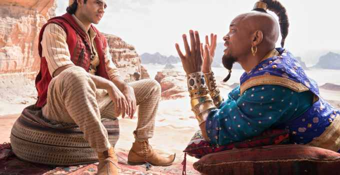 Special First Look At Disney's Aladdin – Will Smith As The Genie!