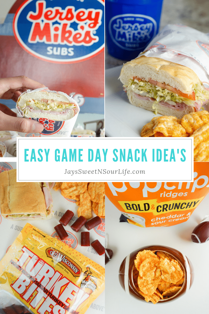Easy Game Day Snack Idea's. Stop stressing about what everyone will be eating on the Big Game Day. Take advantage of some awesome No-Cook Easy Game Day Snack Idea's on the blog now.