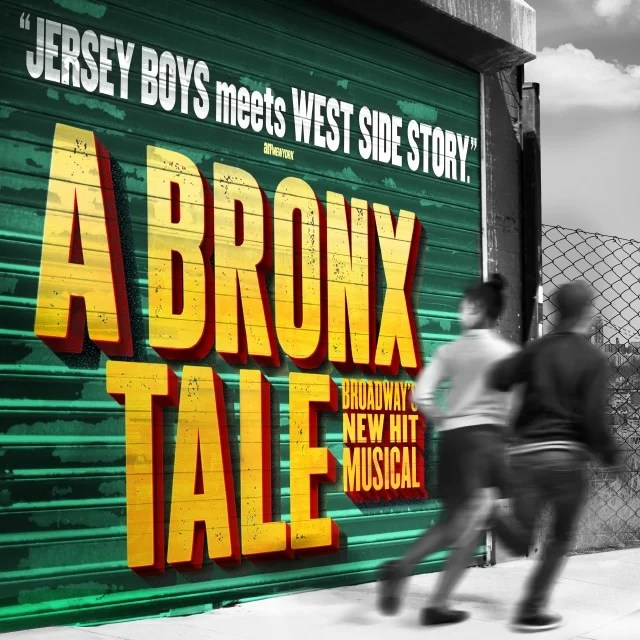 DC Bronx Tale National Theatre. A BRONX TALE Opening Night at The National Theatre Ticket Giveaway. Broadway's hit crowd-pleaser takes you to the stoops of the Bronx in the 1960s, where a young man is caught between the father he loves and the mob boss he'd love to be.