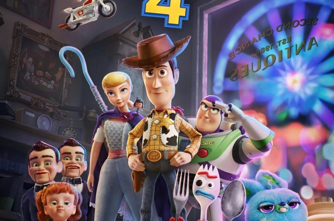 Toy Story 4 Film Poster. Meet The New Characters in Toy Story 4 Film plus a all new trailer. The Toy Story 4 Film hits theaters June 21, 2019.
