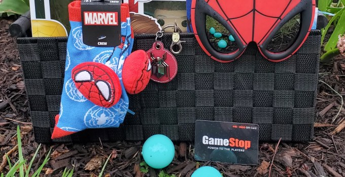 Spider-Man Easter Basket – GameStop The One-Stop-Shop This Easter!