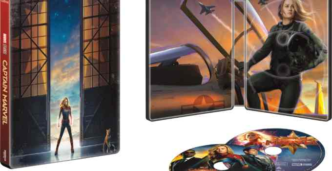 Captain Marvel Is Available Today! Snag The Exclusive Collectible SteelBook From BestBuy!