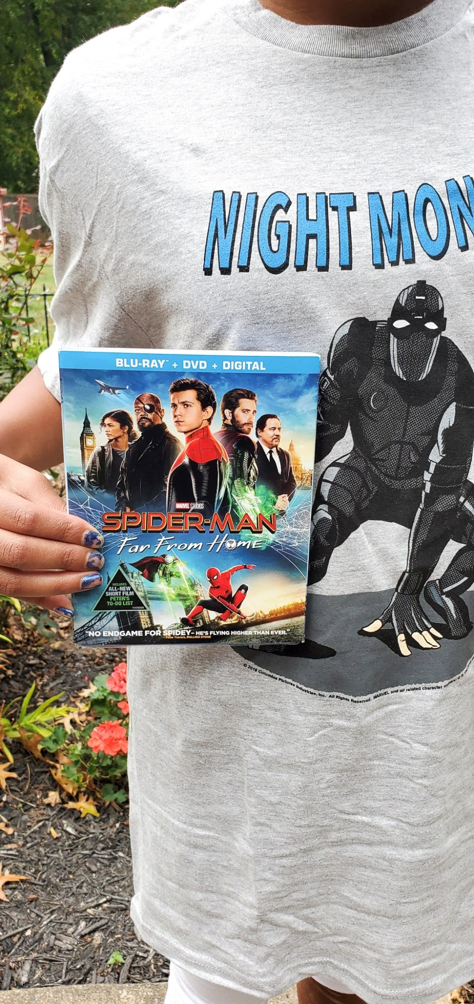 Spider-Man Far From Home DVD. Tom Holland returns as everyone's favorite web-slinger in SPIDER-MAN: FAR FROM HOME, the next chapter after Spider-Man: Homecoming.