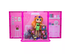 Boxy Girls™ Studio Suite with Seven! See what's inside to unbox! Fashion Surprises from shoes, clothes too accessories! Each Studio can connect to make a Boxy Girls™ World Bigger! Seven can sit & relax with her Boxy Pet while looking out the window into Boxy World! Jays Sweet N Sour Life 2019 Holiday Gift Guide for Kids.