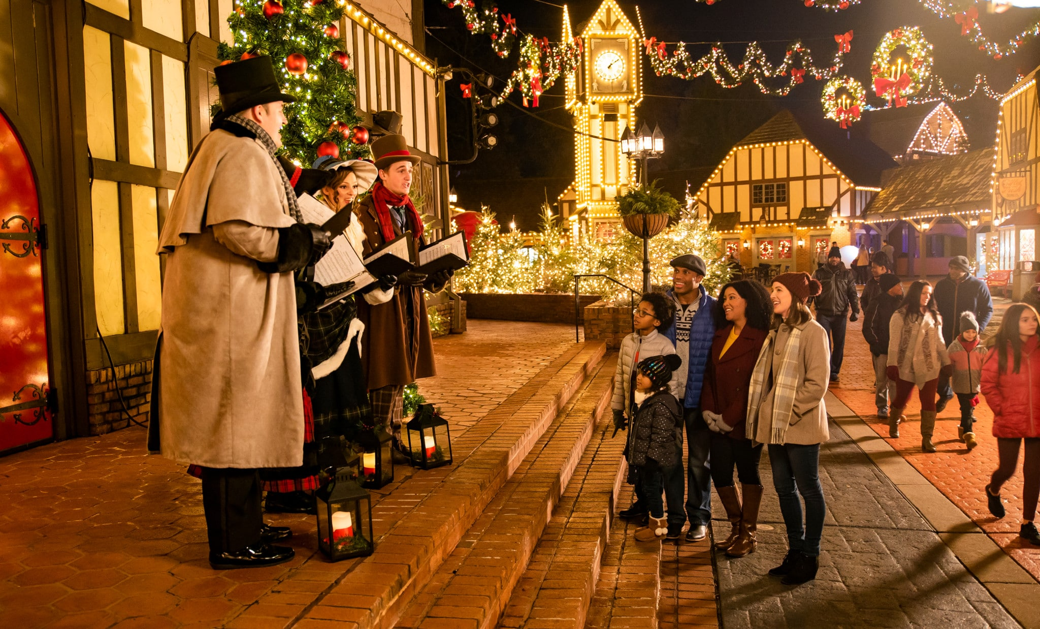 Christmas Town Busch Gardens Williamsburg VA. Enjoy a special special shows and live performances during Busch Gardens Christmas Town Event in Williamsburg VA. Read about all the fun things to expect in this years Christmas Town event.