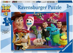 Toy Story 4 Puzzle. Rediscover the fun and excitement of Disney Toy Story 4 with this colorful 35-piece puzzle, featuring all your favorites you know and love! Ravens burger has been making toys for the hand, head, and heart for over 130 years.