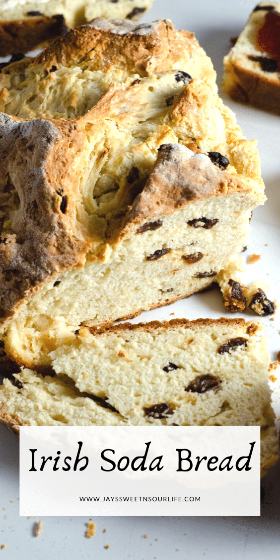Irish Soda Bread Cut Loaf. This Irish Soda Bread is a quick and easy bread recipe you can whip together and spoil your family with. Also known as quick bread, It's a no yeast bread recipe that will take over your home with the sweet smell of fresh-baked bread.