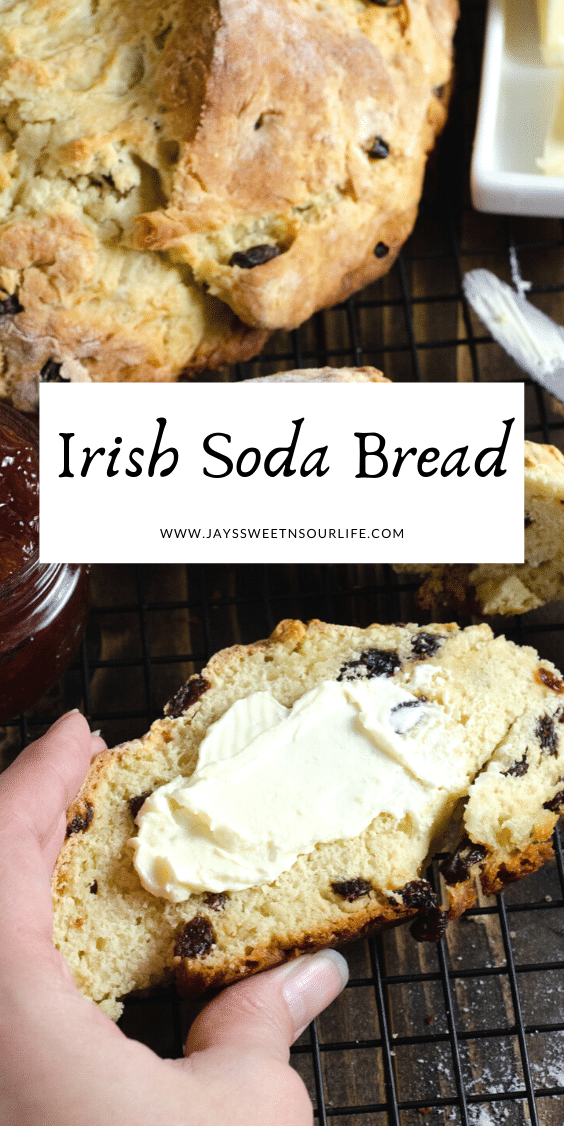 Irish Soda Bread. This Irish Soda Bread is a quick and easy bread recipe you can whip together and spoil your family with. Also known as quick bread, It's a no yeast bread recipe that will take over your home with the sweet smell of fresh-baked bread.
