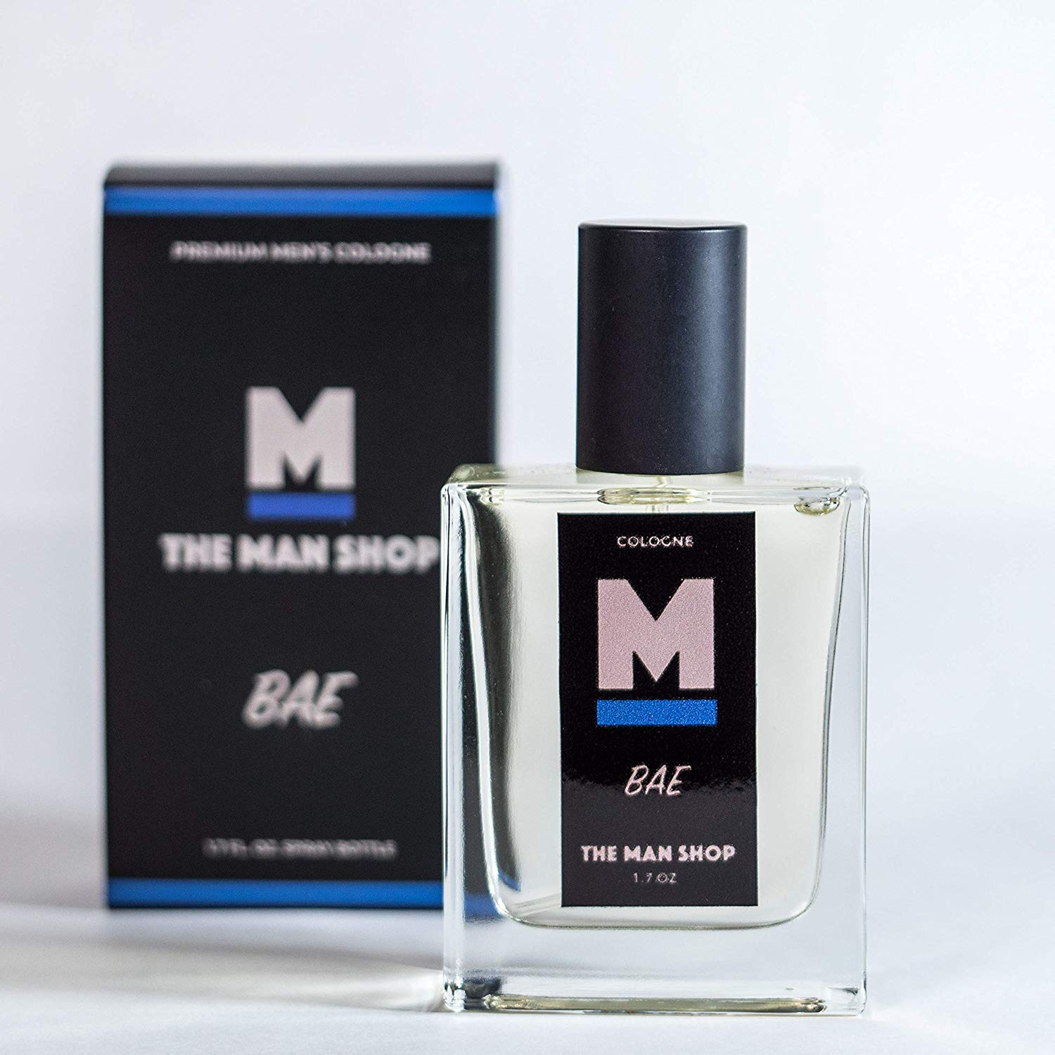 The Man Shop Bae Cologne. The Bae cologne is a modern version of the classic Bay Rum scents. With notes of Bay Rum, Sandalwood, Basil, Mint, and Sage, it's a very masculine scent that will attract a Bae. 2020 Valentine's Day Gift Guide from Jays Sweet N Sour Life Blog.