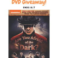 Are You Afraid of the Dark? DVD Giveaway. Meet the new Midnight Society in Nickelodeon's *NEW* Are You Afraid of the Dark?. The three-part limited series follows members of an entirely new Midnight Society, who tell a terrifying tale of the Carnival of Doom and its evil ringmaster Mr. Top Hat, only to witness the shocking story come frightfully to life and prepare for an adventure beyond their wildest nightmares.