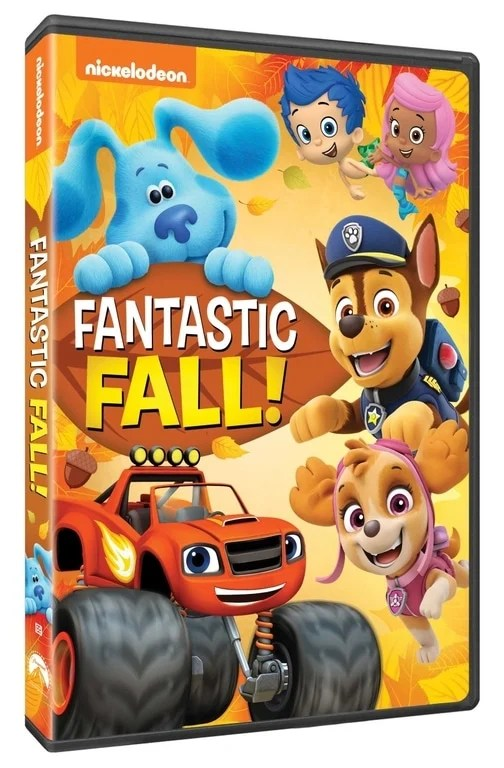 "Celebrate fun-filled fall moments in the brand-new DVD Nick Jr.: Fantastic Fall! The season filled with tricks, treats, and thanks, is upon us! Help Josh and Blue figure out what Magenta wants to be for Halloween. Blaze and AJ are excited to ""truck or treat,"" but Crusher tries to steal their candy!"