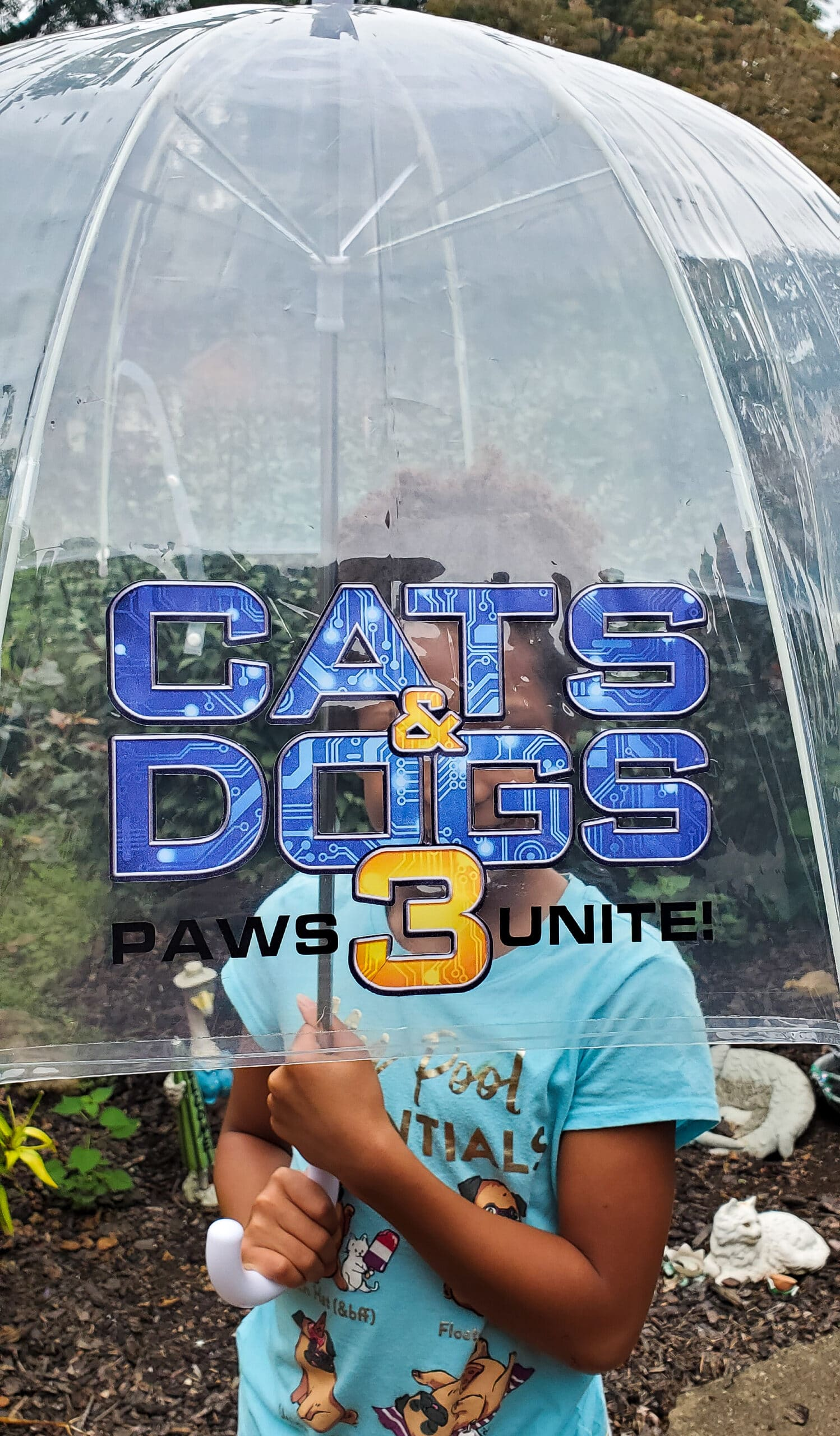 Cats and Dogs 3: Paws Unite! Umbrella. Discover who has the upper paw in Cats & Dogs 3: Paws Unite!, the next feature-length installment of the popular Cats & Dogs franchise from Warner Bros. Home Entertainment. Available on Digital on September 15 and on both Blu-ray Combo Pack and DVD on October 13.