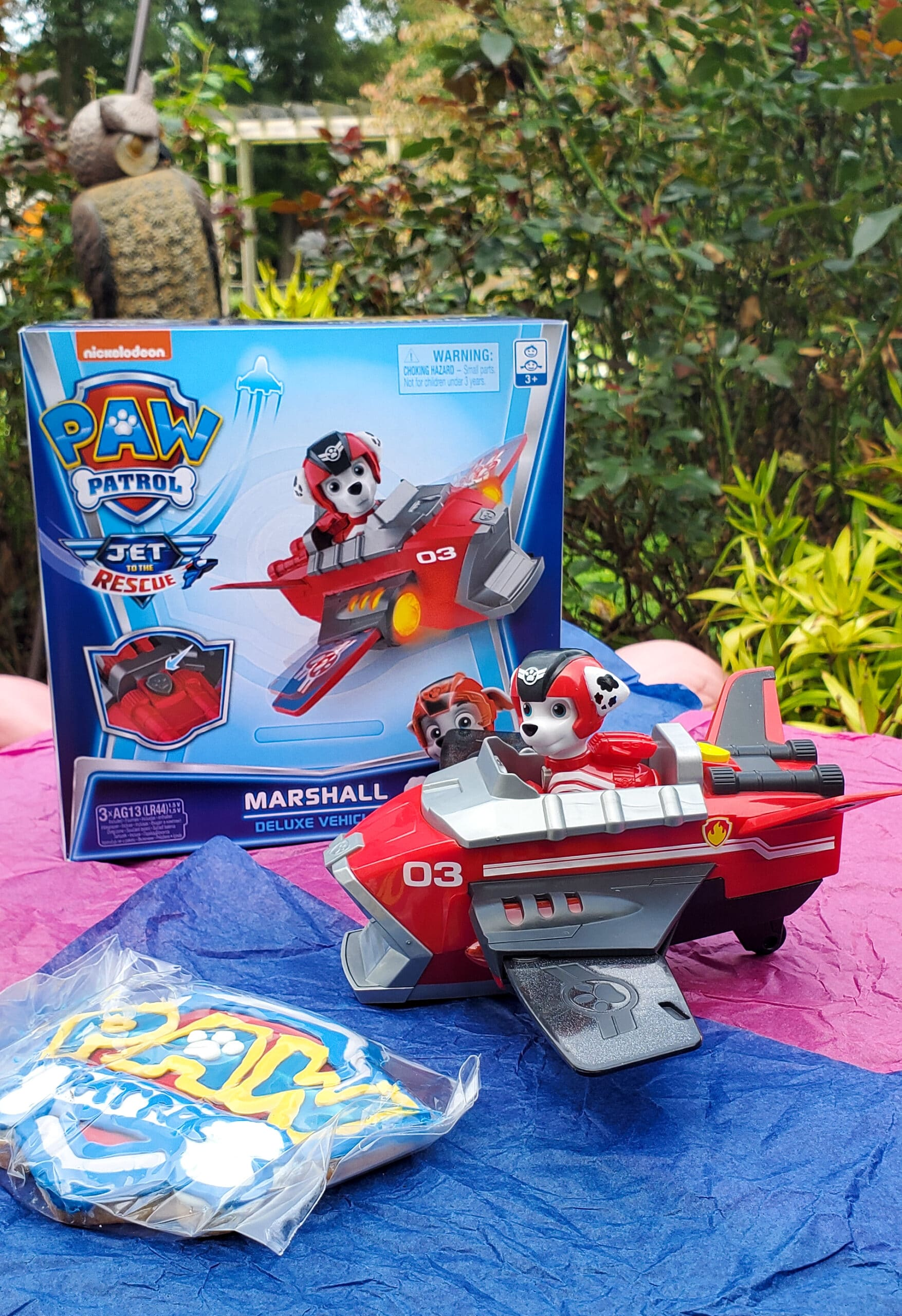 PAW Patrol: Jet to the Rescue Marshal Deluxe Vehicle. Get ready for high-flying adventures with thePAW Patrolpups in the brand-new DVDPAW Patrol: Jet to the Rescue. In celebration of the release of this special feature, Nickelodeon sent us a surprise box full of PAW Patrol goodies! View all of the fun new PAW Patrol: Jet to the Rescue themed toys available on my blog.