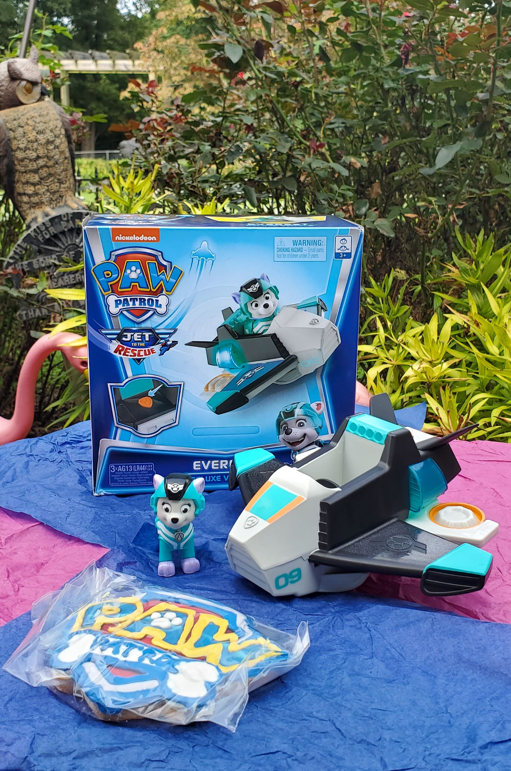 PAW Patrol: Jet to the Rescue Everest Deluxe Vehicle. Get ready for high-flying adventures with thePAW Patrolpups in the brand-new DVDPAW Patrol: Jet to the Rescue. In celebration of the release of this special feature, Nickelodeon sent us a surprise box full of PAW Patrol goodies! View all of the fun new PAW Patrol: Jet to the Rescue themed toys available on my blog.