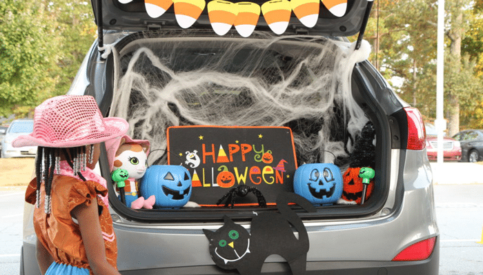 16 Fun Halloween At Home Ideas for Quarantine-O-Ween 2020 Trunk or Treat . Quarantine-O-Ween is the at-home alternative that is fun for both kids and adults. Check out these 16 Fun Halloween At Home Ideas for Quarantine-O-Ween 2020. Featuring some spooky fun ideas and ways you can celebrate this holiday season safely.